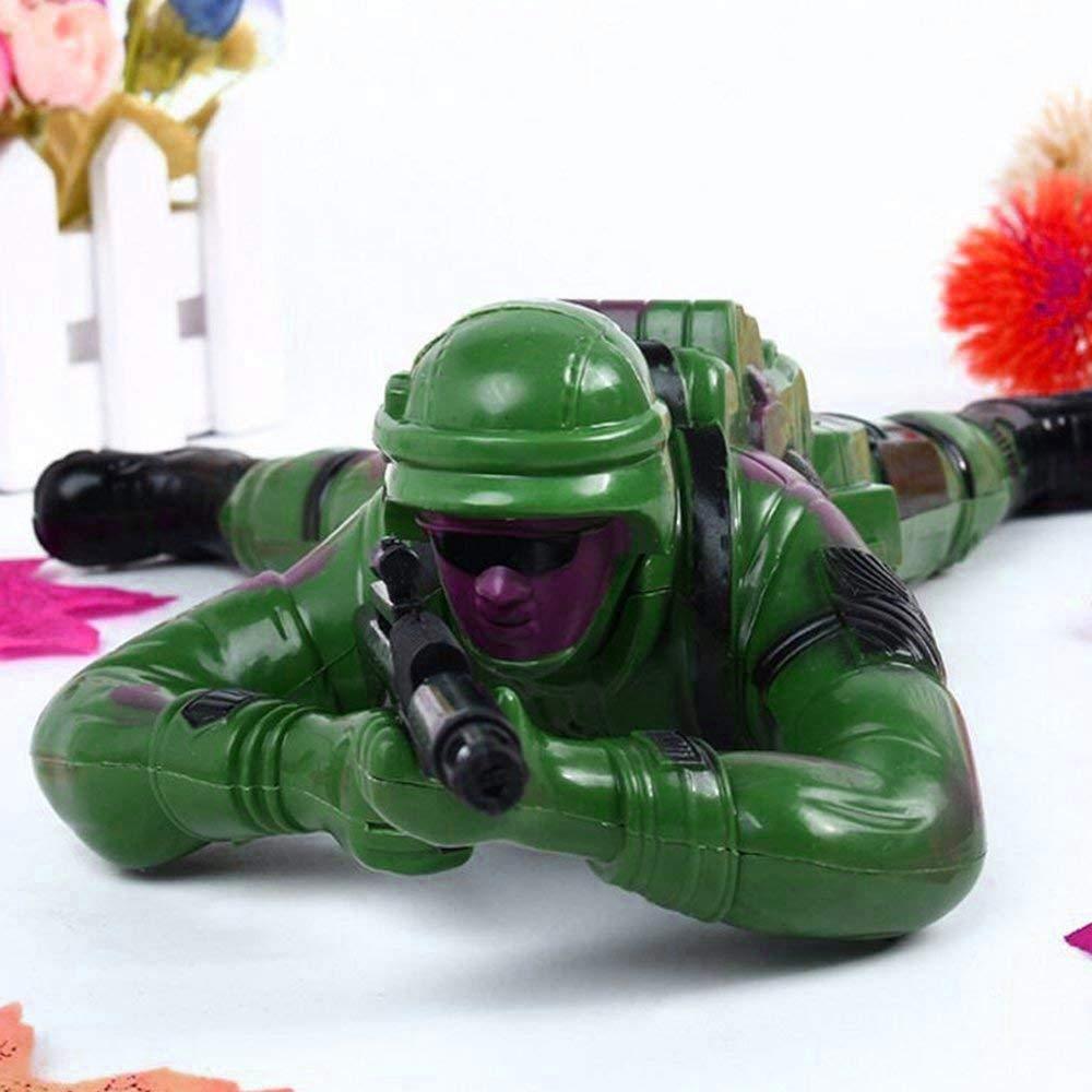 Amazon.com: Leegoal - Juguete soldado para gatear, funciona ...