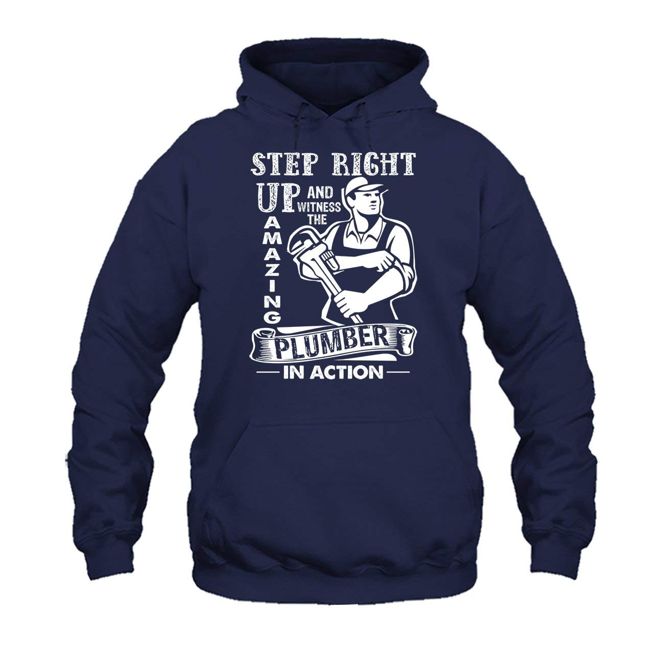 Cool Long Sleeve Shirt Amazing Plumber in Action Tee Shirt