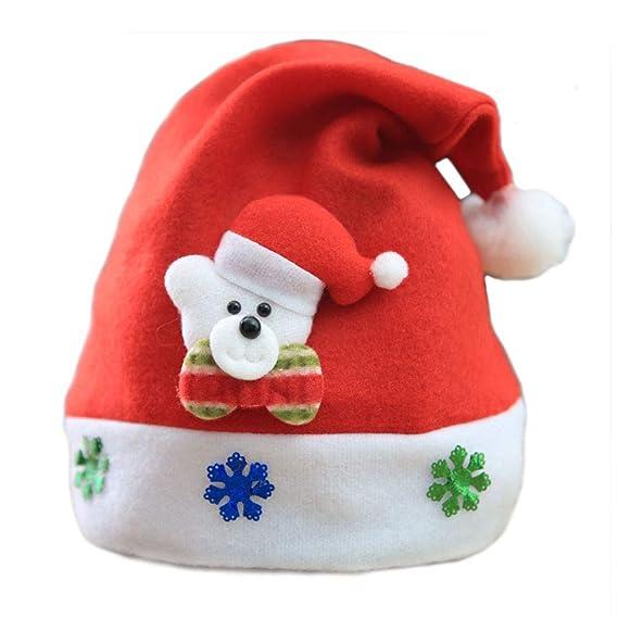 JUNMAONO Christmas Decoración, Sombreros De Navidad, Navidad Decoraciones, Adornos Navideños (7): Amazon.es: Hogar