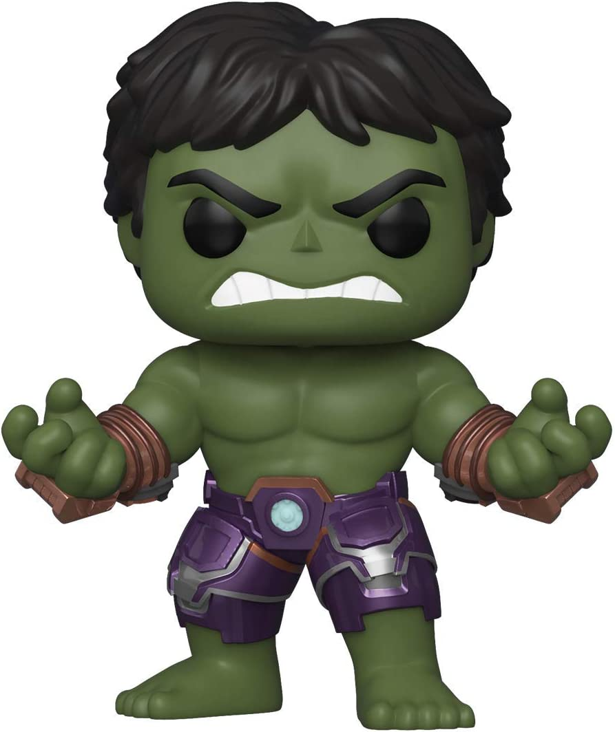 Funko Pop! Marvel: Avengers Game - Hulk (Stark Tech Suit), Multicolor, Model:47759