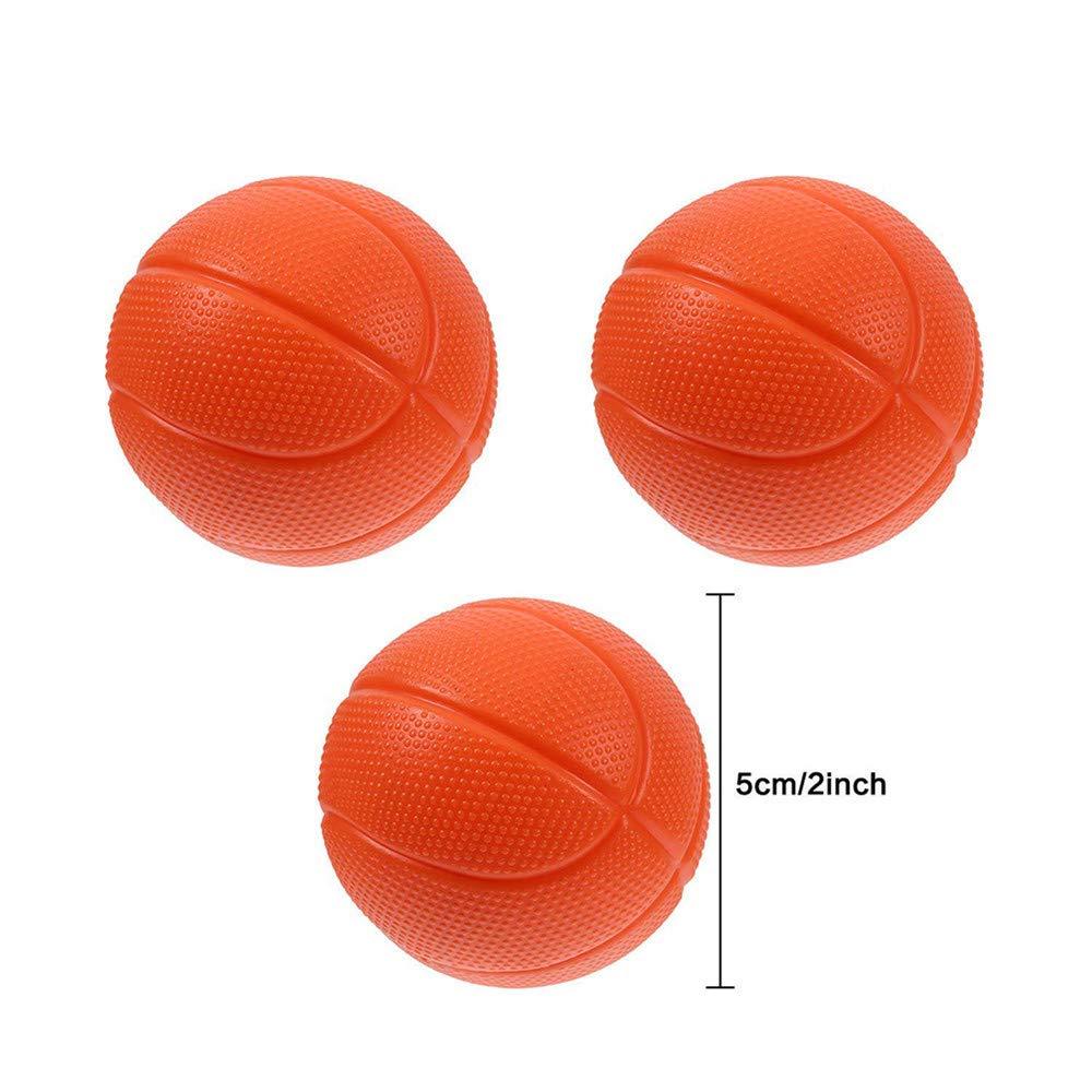 Juguetes para el ba/ño Mini Canasta de Baloncesto y Juego de Juegos de Agua con ba/ñera para ni/ños peque/ños 3 Bolas Incluidas