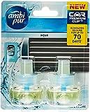 Ambi Pur Premium Clip Aqua Car Air Freshener Refill 2x7.5ml
