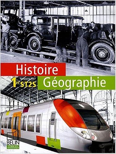Histoire Géographie 1e ST2S (French Edition)