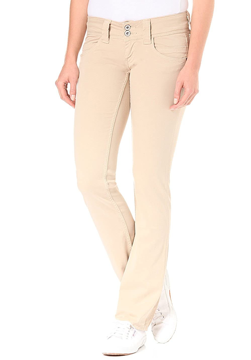 Pepe Jeans Jeans Straight Donna PL210006