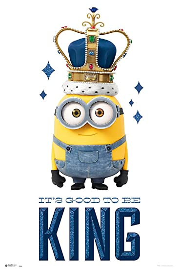 minions the movie movie poster print bob minion its good to