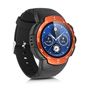 Zeblaze Blitz - 3G Impermeable Ajustable Smartwatch Smartphone Reloj Android 5.1 (Pantalla 1.33, MTK6580 Quad Core, SIM, Bluetooth 4.0, 4G Rom, WIFI ...