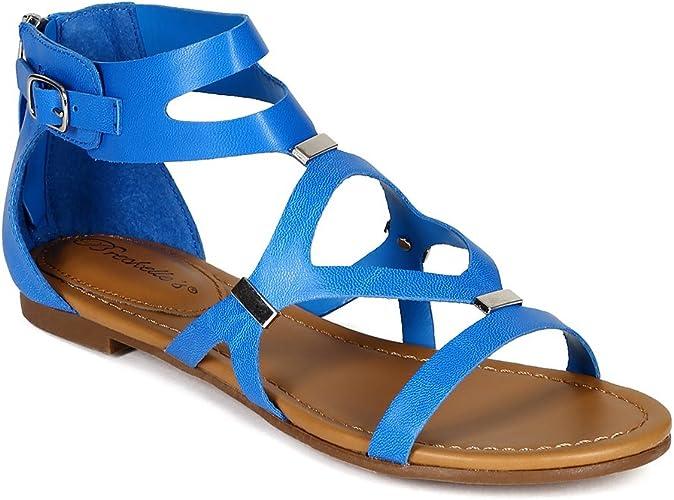 Flat Gladiator Sandals CB02 - Light