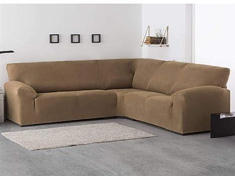 Belmarti - Funda sofá Rinconera Milan - Bielástica - Color Rojo C05