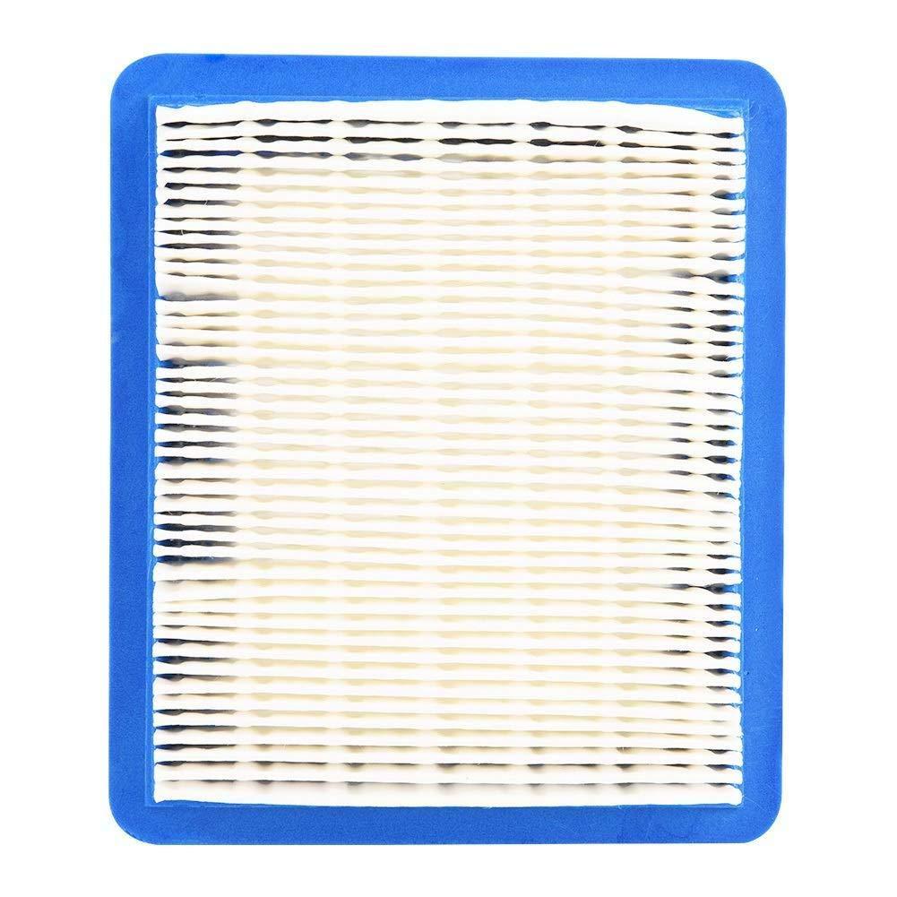 Filtre /à air Faucheuse DierCosy Tools Filtres /à air 5 X Filtre /à air Jardin Pelouse Outils Air Cleaner Id/éal pour Briggs et Stratton 491588 399959 491588s John Deere Pt15853 Couleur: A
