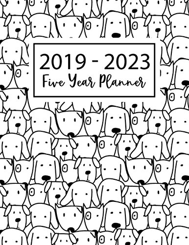 2019-2023 Five Year Planner Agenda Planner for the Next Five Years, Agenda Planner Schedule Organizer, 60 Months Planner, Appointment Notebook (2019-2023 Year Planner Monthly Calendar) [Publishing, Mary W.] (Tapa Blanda)