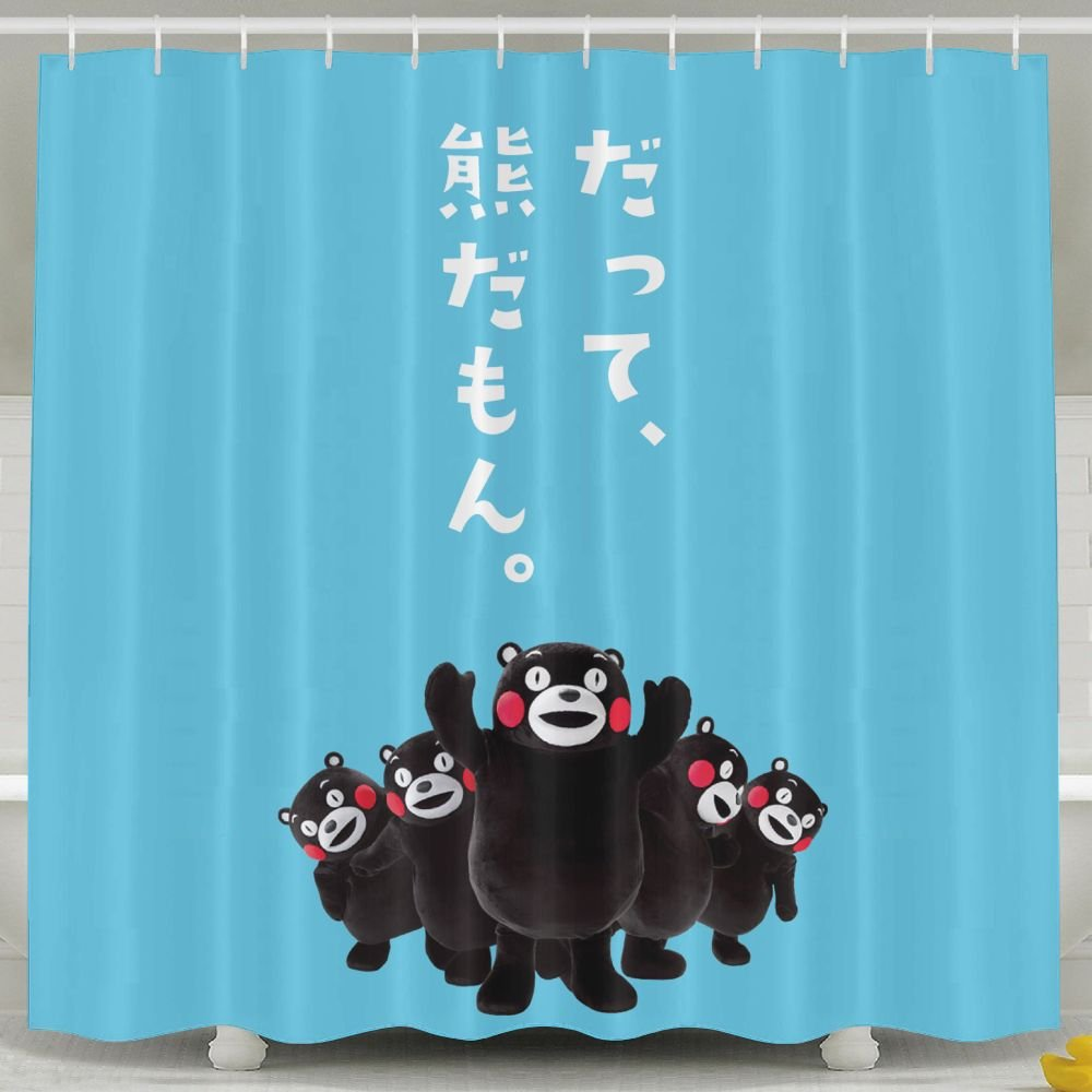 Outlet Simoner We Are Kumamon Waterproof Fabric Polyester Shower Curtain For Bathroom Decors 60