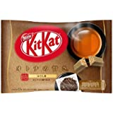 Kit kat chocolate Houjicha Japanese black tea 12 bars 1 bags Japan import