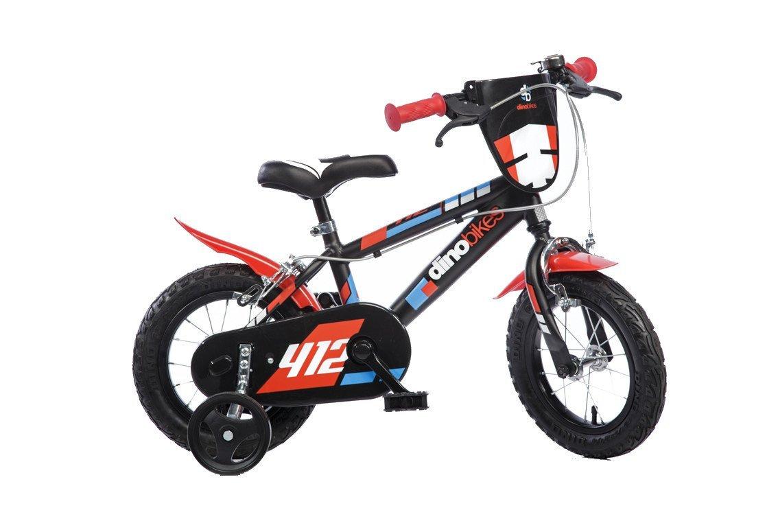 b68479fdb55d01 Dinobikes Dino Bikes Vélo Garçon Marque 12 Pouces de 3 à 5 Ans, 412US   Amazon.fr  Jeux et Jouets