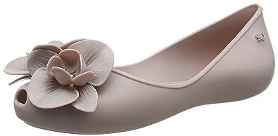 Zaxy Damen Stories Flower Ballerinas, Pink (Putty), 40 EU
