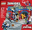 LEGO Juniors 10687 Spider-Man Hideout Building Kit by LEGO
