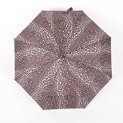 Vivona Automatic Windproof Folding Umbrella Men Women 8 Ribs Umbrellas Travel Lightweight Rain Gear - (Color: 4) by Vivona (Image #5)