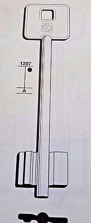 5pt15 Silca/llaves en bruto, potente//CHIAVE GREZZA/clés/llave
