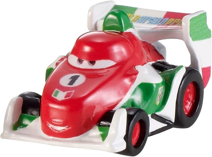 vehicule Miniature Edition limit/é f1 Rouge Verte et Blanc OTTO Voiture Disney Cars Francesco Bernoulli