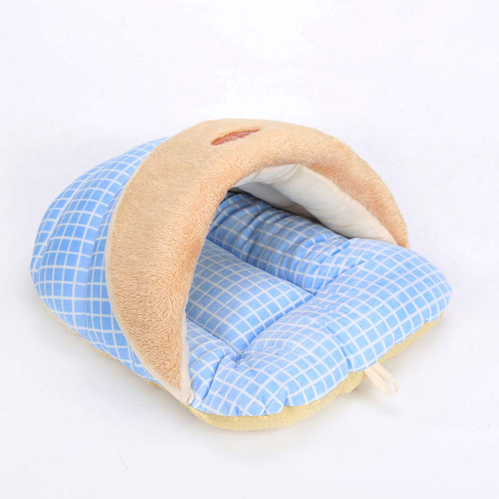 bluee 524032 bluee 524032 GUAISHOU Pet Bed,Slippers Kennel Cat Sleeping Bag 4 colors Optional For 8kg Pets