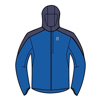 11149310bda Salomon Men s Bonatti WP Jacket matador x-victory Network