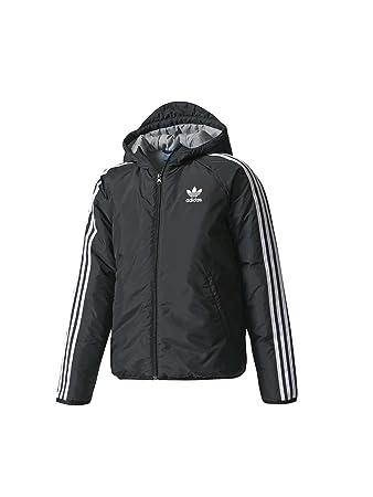 adidas J EP Jacket Jacke Kinder, Kinder, J EP Jacket, schwarz/weiß ...