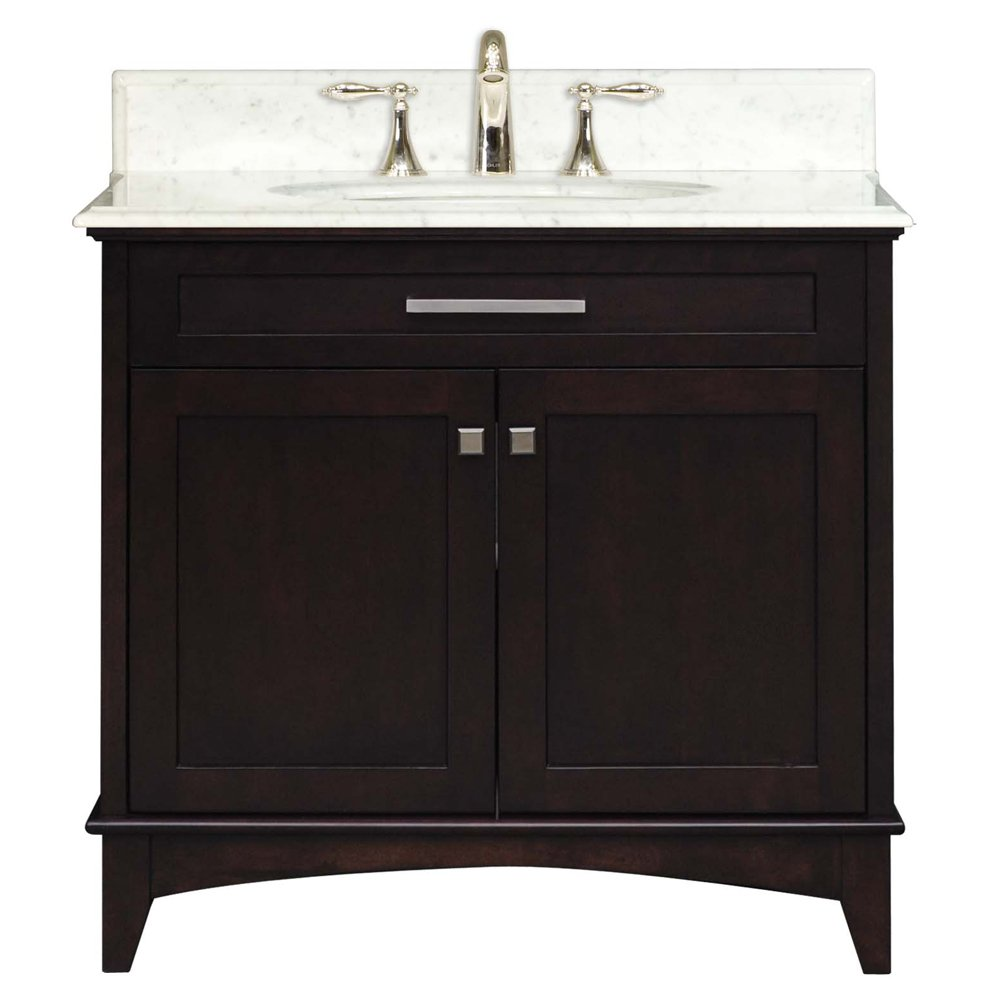 Water Creation MANHATTAN30 Manhattan Collection 30-Inch 31-Inch with Countertop Single Sink Bathroom Vanity Set