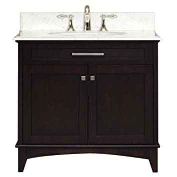 Water Creation MANHATTAN30 Manhattan Collection 30 Inch (31 Inch With  Countertop) Single