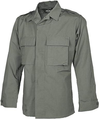 Olive Drab Tru-Spec 1379 Mens Long Sleeve Tactical Shirt