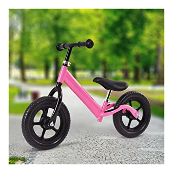 "12/"" Balance Bike Classic Kids No-Pedal Learn To Ride Pre Bike w// Adjustable Seat"