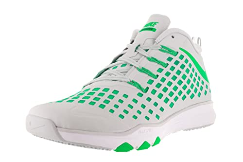 cheap for discount 6644f fa614 Nike Men s Train Quick Pure Platinum Rage Green Black Training Shoe 8. 5 Men  US  Buy Online at Low Prices in India - Amazon.in