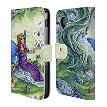 Official Meredith Dillman Friend Fairy Leather Book Wallet Case Cover For LG G3 S / G3 Beat / G3 Vigor