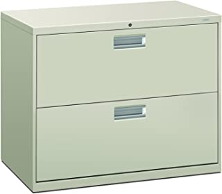 product image for HON 682LQ 600 Series 36-Inch by 19-1/4-Inch 2-Drawer Lateral File, Light Gray
