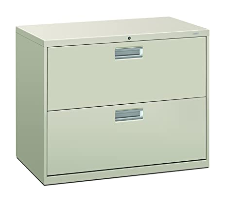 Amazon.com: HON 2-Drawer Filing Cabinet - 600 Series Lateral Legal ...
