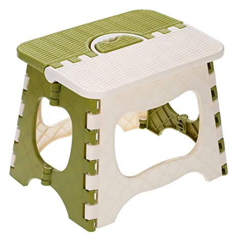 Strange Amazon Com Festnight Folding Step Stool Portable Chair Caraccident5 Cool Chair Designs And Ideas Caraccident5Info