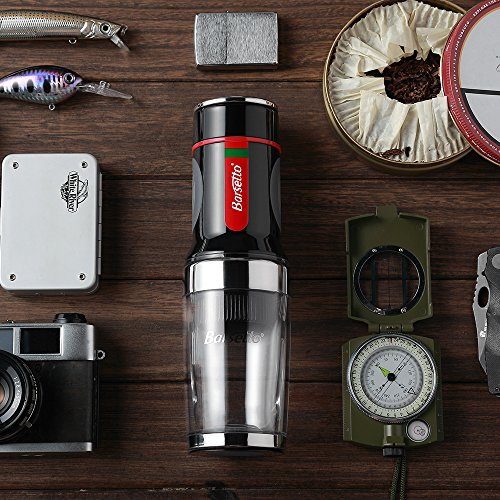 Barsetto Portable Espresso Coffee Maker Tripresso for Coffee CapsulesPowder