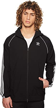 Men's Adidas Originals Windbreaker X Superstar Small Black ABSqB5x