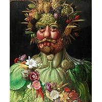 Vertumnus (1591) - Giuseppe Arcimboldo - Tela 90x111 Para Quadro