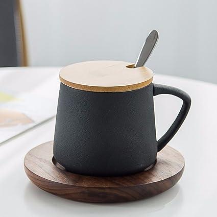 WU-Mug La Taza de café de cerámica Tazas creativos Platos Tazas Taza con Agua