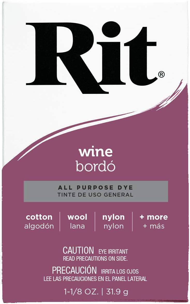 Rit - Tinte Multiusos en Polvo, Granate, 1 Pack: Amazon.es ...