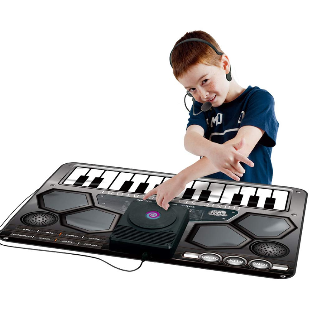 Homesave Mat Electronic Music Style Playmat with Microphone 9070cm by Homesave (Image #1)