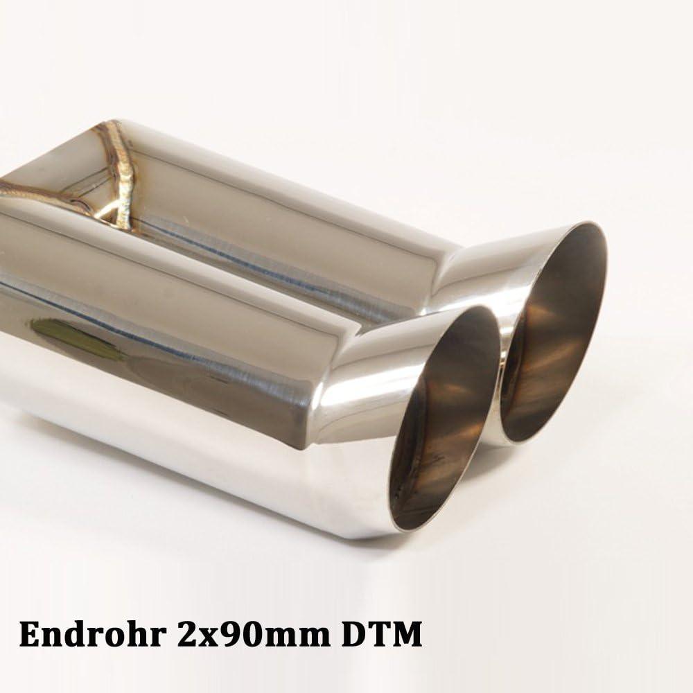 Endschalld/ämpfer Endrohr frei w/ählbar 921162-x Sportendschalld/ämpfer Material: alum Friedrich Motorsport Sportauspuff Stahl
