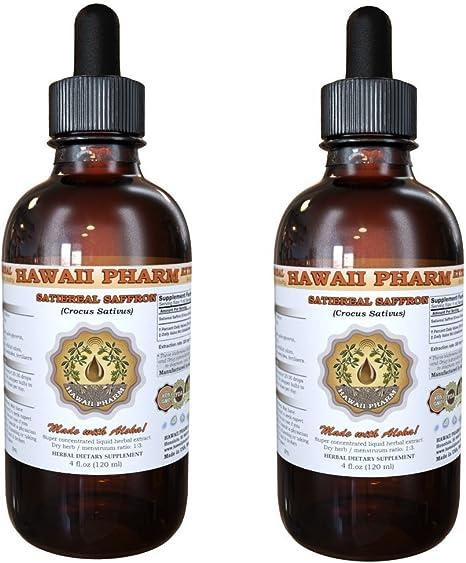 Amazon Com Satiereal Saffron Crocus Sativus Liquid Extract 2x2