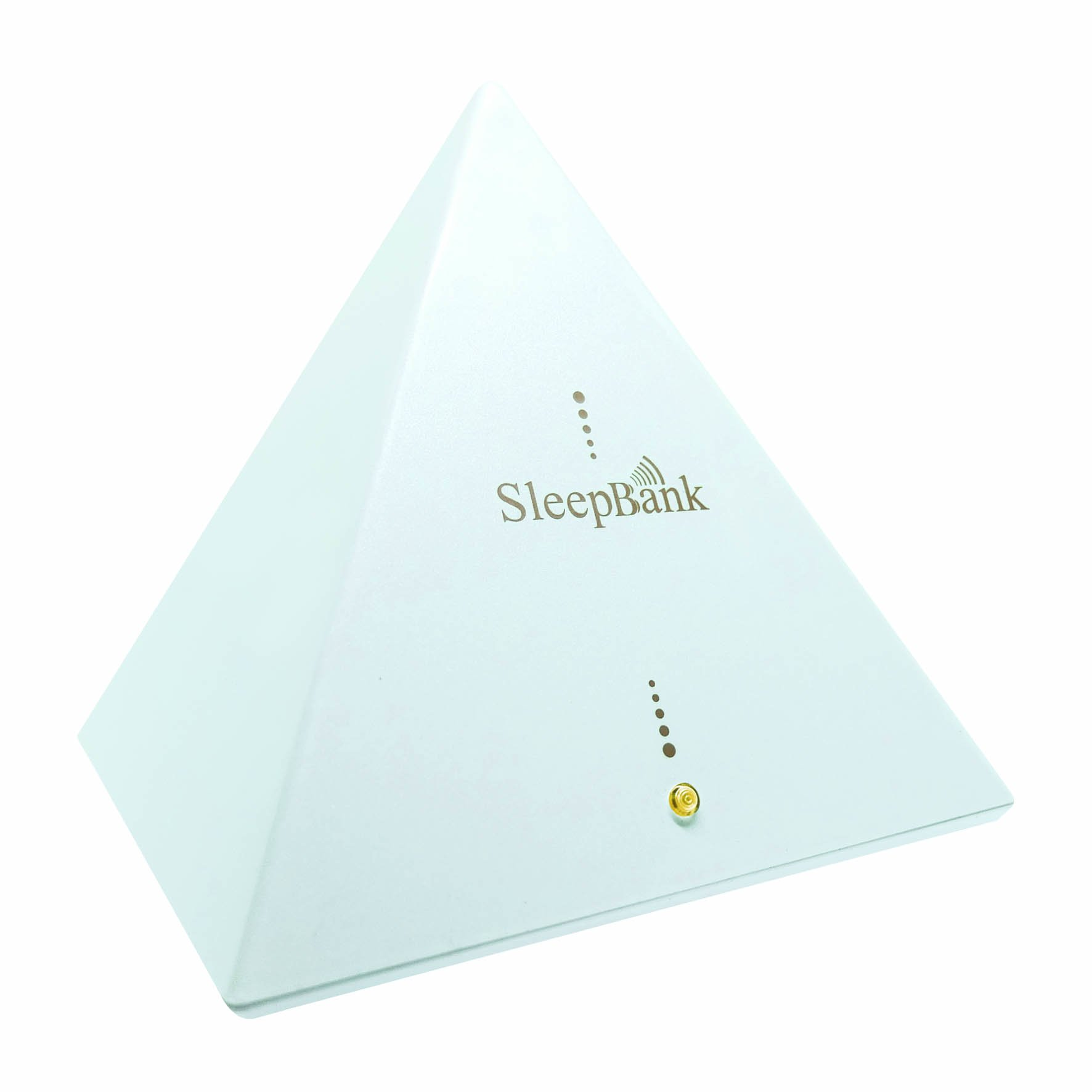 Sleep Frequency Machine by SleepBank - Patented Technology Chip (SFT) - Fall Asleep Faster - White by SleepBank