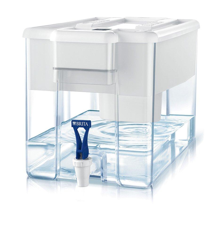 BRITA Optimax Depósito de Agua con Filtro Maxtra Blanco  litros