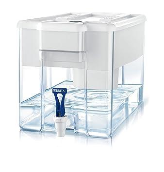 BRITA Optimax - Dispensador de agua filtrada con 1 filtro MAXTRA+, color blanco: Amazon.es: Hogar