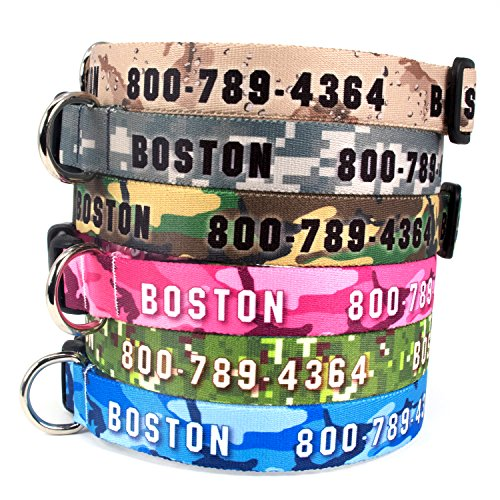 The 10 best name tags for dogs pink camo 2019
