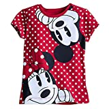 Disney Mickey and Minnie Mouse Tee for Girls Size XS (4) White