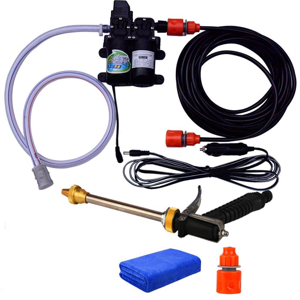 Car wash supplies Roscloud@ Pompe à eau électrique portative 160W Pompe à eau électrique (Couleur : A) Rosloud