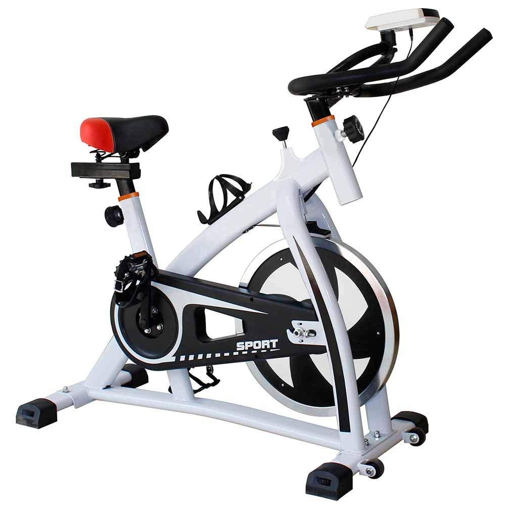 White Intelligent Spinning Bicycle Home Game Exercise Bike Fitness Equipment Indoor Sports Bicycle