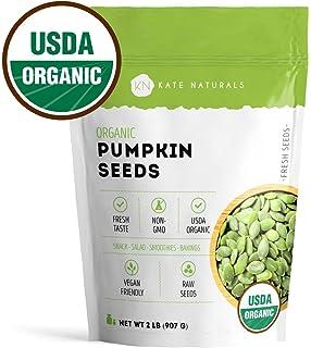 Amazon.com : Pepitas / Semillas de calabaza orgánicas de ...